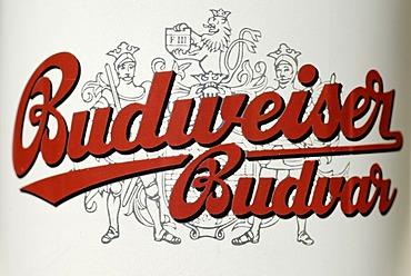 Czech beer can, Budweiser beer from the Czech Republic