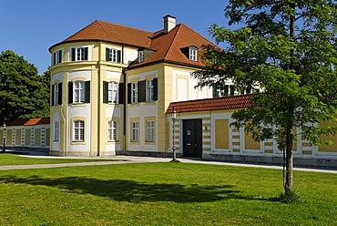 Palais at the Schlossrondell, Schloss Nymphenburg, Munich, Bavaria, Germany