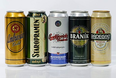 Czech beer can, beer from Bohemia,  Czech Republic