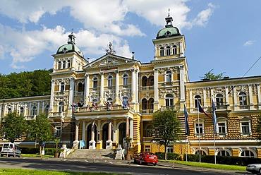 Hotel at the health resort Marianske Lazne, Marienbad, West Bohemia, Czech Republik
