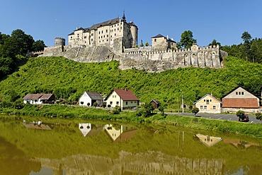 Cesky Sternberk castle, Sternberg, on the Sazava river, central Bohemia, Czech Republik