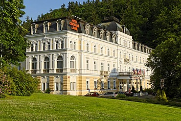 Health resort Marianske Lazne, Marienbad, west Bohemia, Czech Republik