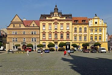 Historic city square of Chrudim, Bohemia, Czech Republic