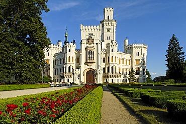 Hluboka castle, South Bohemia, Czech Republik