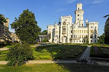 Hluboka castle, Bohemia, Czech Republik