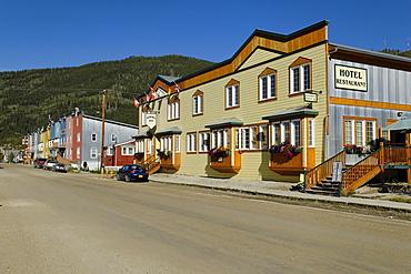 Hotel Aurora, Dawson City, Yukon, Canada
