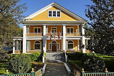 Historic mansion at Dawson City, Yukon, Canada