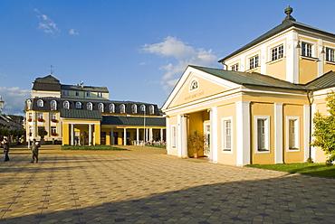Frantiskovy Lazne Spa, Franzensbad, west Bohemia, Czech Republic