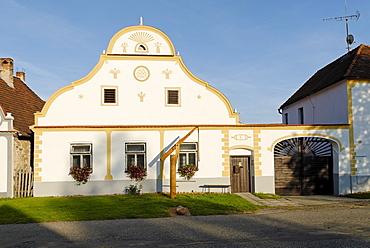 Holasovice village, Unesco World Heritage Site, south Bohemia, Czech Republic