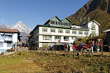 Sherpa village of Lukla, Solukhumbu, Khumbu, Mount Everest region, Nepal