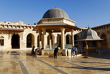 Umayyad Mosque at Aleppo, Syria