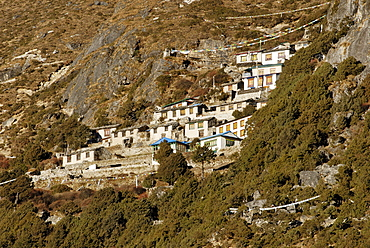 Thame monastery, Sagarmatha National Park, Khumbu Himal, Nepal