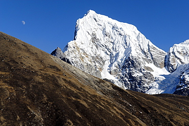 View of Arakamtse (6423), Sagarmatha National Park, Khumbu Himal, Nepal
