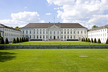 Castle Bellevue, domicile of the Federal President, Berlin, Germany