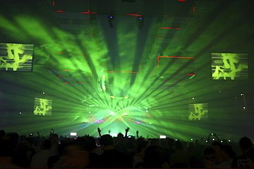 "Techno festival ""Mayday 2008"", Dortmund, North Rhine-Westphalia, Germany, Europe"