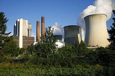 Nuclear power plant Weisweiler, North Rhine-Westphalia, Germany