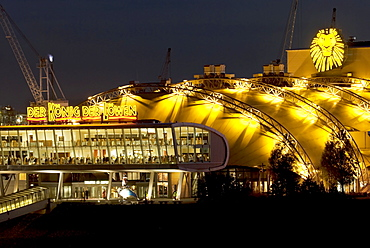 Tent of the musical The Lion King, Hamburg, Germany