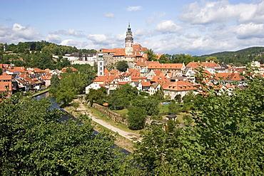 Cesky Krumlov, Krummau, UNESCO world cultural heritage, Czech Republic