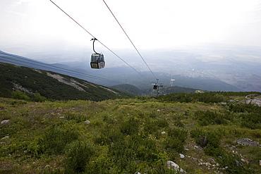 Ropeway to Skalnate pleso, 1751 m, Slovakia