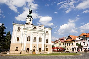 Main square of Keûmarok, Slovakia