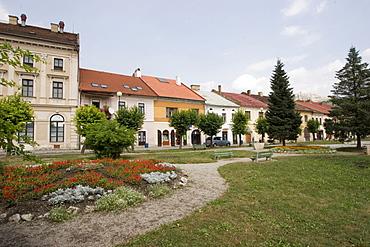 Town of Spioeske Podhradie below the Zipser castle, Slovakia