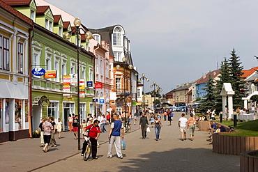 Town of Poprad, High Tatra, Slovakia