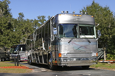 Luxury camper, USA