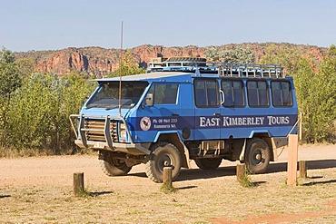 Four wheel drive (4x4), East Kimberley Tours, Purnululu National Park, Kimberley, West Australia, Australia
