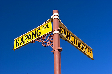 Street signs, Broome, Western Australia, WA, Australia
