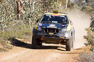 Australia Safari rally 2007, four wheel drive, outback, Western Australia, WA, Australia