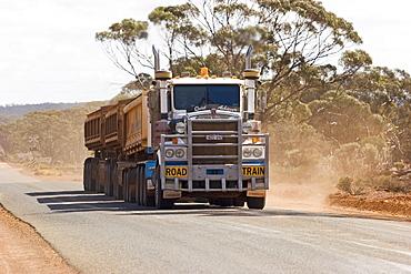 Road Train, Western Australia, WA, Australia