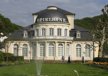 The casino in the spa gardens of Bad Ems, Rhineland-Palatinate, germany