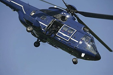 German police helicopter AS 332 L1 Super Puma