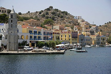 Isle of Symi near Rhodes, Greece, Europe