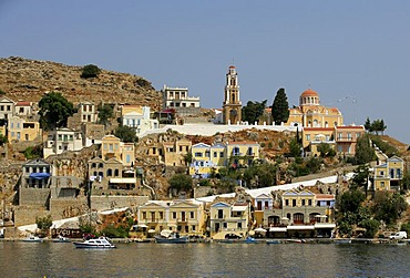 Seaside of Symi, Greece, Europe
