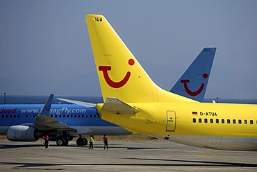 Boeing 737 of the tour operator TUI