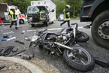 Motoring accident