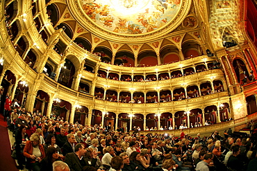 State Opera House in Budapest, Hungary, Europe