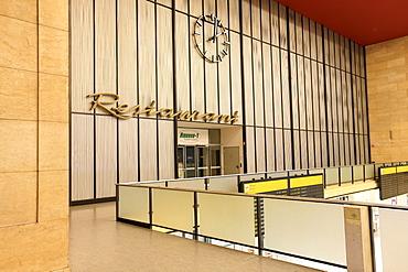 Restaurant Airbase 1 in Berlin Tempelhof Airport, Berlin, Germany, Europe