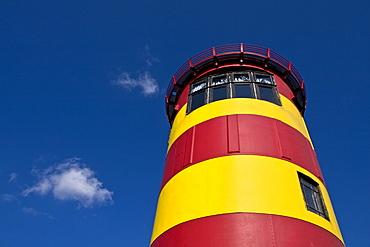 Lighthouse, Pilsum, Krummhoern, East Frisia, Lower Saxony, Germany, Europe