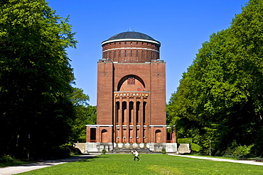 Planetarium, Observatory, City Park, Hamburg, Germany, Europe