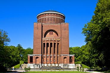 Planetarium, Observatory in Hamburg city park, Hanseatic city of Hamburg, Germany, Europe