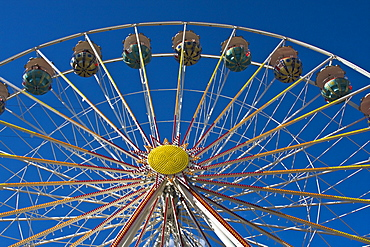 Giant ferris wheel at the celebration of the birthday of Hamburg Port, 2008, Hamburg, Germany, Europe
