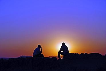 Sunset, Rose Valley, Goereme, Anatolia, Turkey