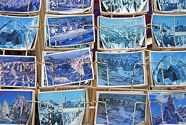 Old postcards, Cappadocia, Turkey