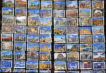 Postcards, Cappadocia, Turkey