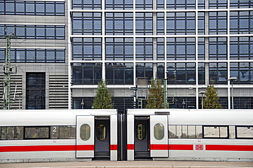 Intercity Express, Stuttgart main station, Germany