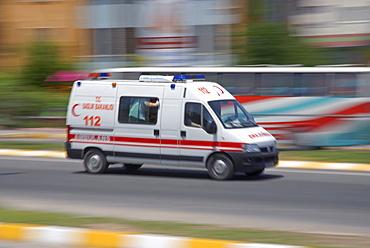 Ambulance, Nevsehir, Cappadocia, Turkey