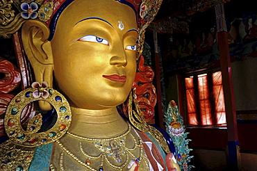 Maitreya Buddha, Tikse Monastery, Ladakh, India
