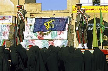 Ashura rituals, penitent processions, Isfahan, Iran